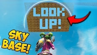 Download Video SKY BASE TROLL *GONE WRONG!* - Fortnite Funny Fails and WTF Moments! #333 MP3 3GP MP4