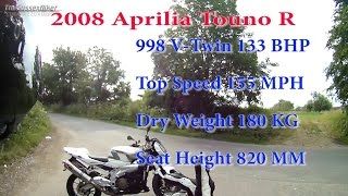 2. 2008 Aprilia Tuono R Test Ride