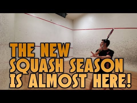 Squash Season Is Almost Here!