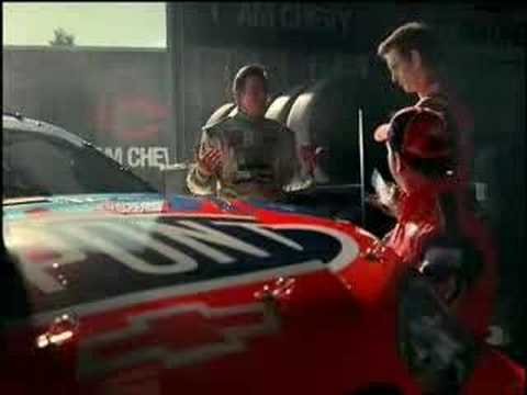 New Jeff Gordon Chevy commercial
