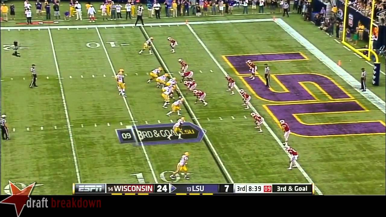 La'el Collins vs Wisconsin (2014)