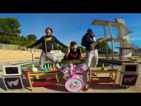 Smells Like Teen Spirit with toy instruments