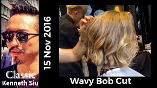 Video Kenneth Siu's Haircut - Wavy Bob Cut New MP3, 3GP, MP4, WEBM, AVI, FLV Mei 2018