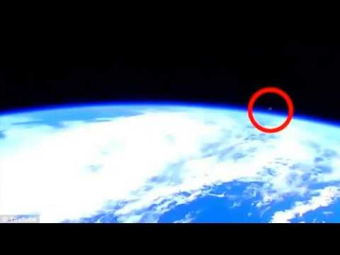 NASA Cuts Live Feed As UFO Appears