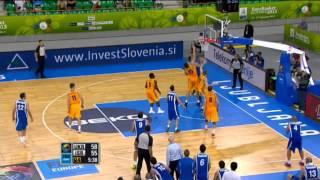 Highlights Ukraine-Israel EuroBasket 2013