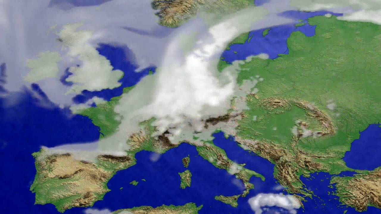 Cloud forecast Europe 2016-06-23
