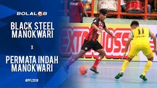 Video Black Steel Manokwari (3) vs (0) Permata Indah Manokwari - Highlights Pro Futsal League 2018 MP3, 3GP, MP4, WEBM, AVI, FLV Februari 2018