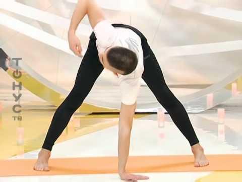 Хатха йога для начинающих занятие 3