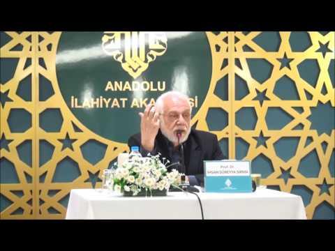 Prof. Dr. İhsan Süreyya Sırma ile