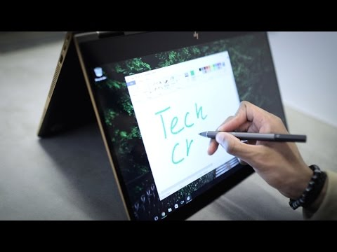 , title : 'HP's Spectre 15 laptop swivels and plays 4k'