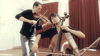 "BartolomeyBittmann - Ki video for the album ""Neubau"" music by Matthias Bartolomey - cello Klemens Bittmann - violin recorded in..."