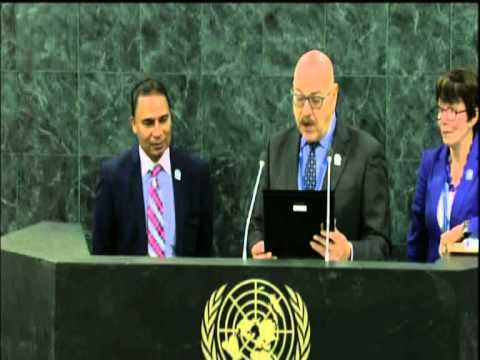 United Nations MMUN honoring Bobby Kumar Kalotee 2014