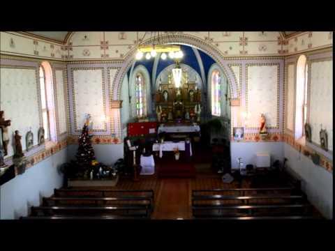 Capela Cristo Rei Parte de cima da capela