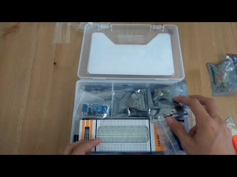 unboxing #14.Ultimate UNO R3 Starter Kit RTC 1602LCD for Arduino