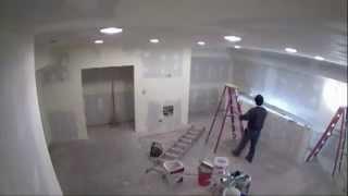 Attic Remodeling – 64 secs. (time-lapse)
