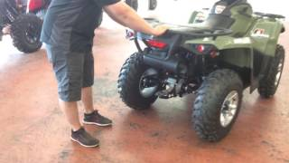 3. 2017 Can-Am outlander 450  walk around