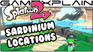 Need help finding all the Sardinium for upgrades in Splatoon 2? We show where to find each and every one! ---------------------------------Follow GameXplain!---------------------------------➤ PATREON:  https://www.patreon.com/GameXplain➤ FACEBOOK:: http://www.facebook.com/gamexplain➤ TWITTER: http://twitter.com/GameXplain➤ INSTAGRAM: https://www.instagram.com/gamexplain_official➤ GOOGLE+: https://plus.google.com/108004348435696627453⮞ Support us by shopping @ Play-Asia- http://www.play-asia.com/?tagid=1351441 & @ AMAZON- http://geni.us/wq8 ⮜