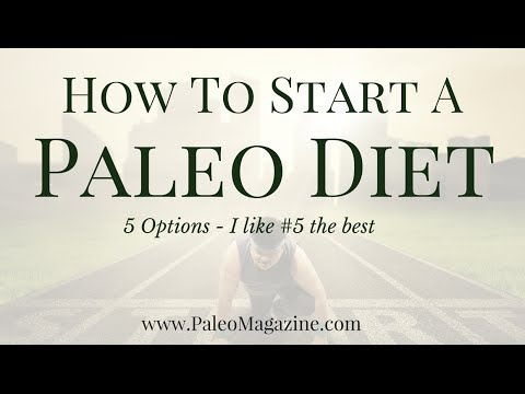 How To Start A Paleo Diet (5 Options – #5 is my favorite)