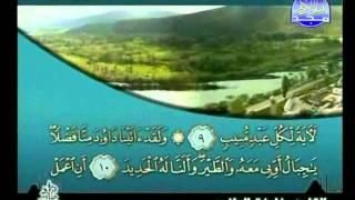 HD المصحف المرتل 22 للشيخ خليفة الطنيجي حفظه الله