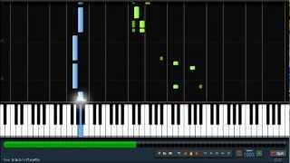 He's a Pirate - Easy Piano Tutorial by PlutaX - Synthesia