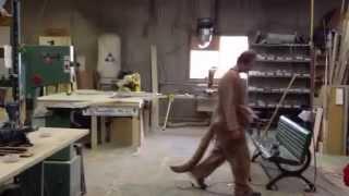 Gags Behind The Scenes - Sad Kangaroo Costume Test