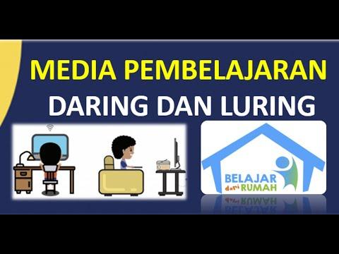 MEDIA PEMBELAJARAN DARING DAN LURING - BELAJAR DARI RUMAH