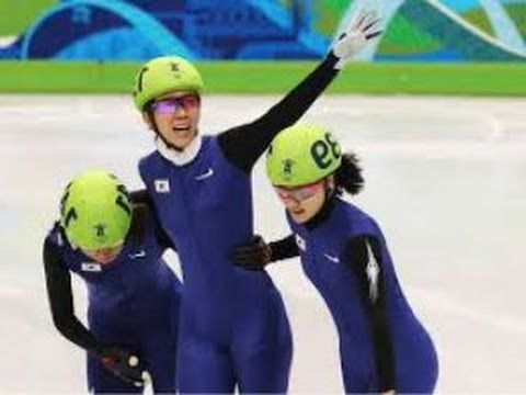South Korea wins Gold Medal women's relay Sochi Olympics ( 2014)