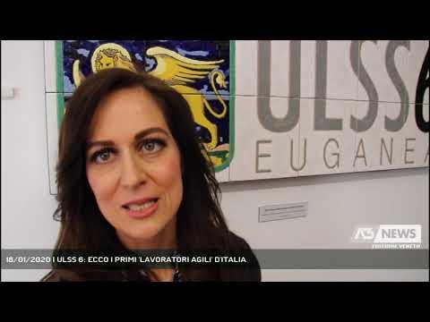 18/01/2020   ULSS 6: ECCO I PRIMI 'LAVORATORI AGILI' D'ITALIA