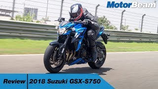 10. Suzuki GSX-S750 Review - Best Middle-Weight For India? | MotorBeam