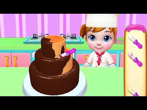 Baby Girl Cooking Game - Learn How To Be The Best Cake Baker - Cocoplay Games Android /ioss