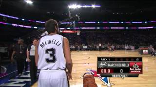 2014 NBA All Star Weekend - 3 Point Contest - Final Round