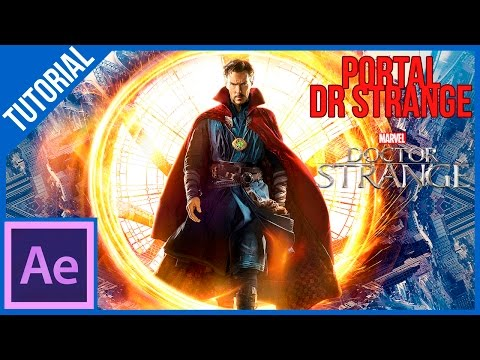 Como Hacer Los Portales De Dr Strange En After Effects || Tutorial