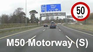 Tallaght Ireland  city photos gallery : Driving in Ireland - M50 Motorway from Tallaght to Stillorgan, Dublin