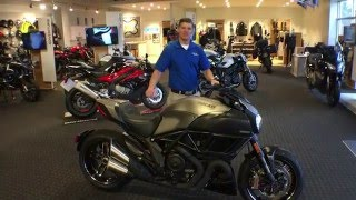 8. Frontline Eurosports: 2015 Ducati Diavel Titanium #373 of 500  with Nate Jennings