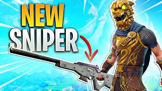 NEW LEGENDARY SNIPER!! (You Can Hit COLLATERALS!) - Fortnite Battle Royale *Coming Soon*