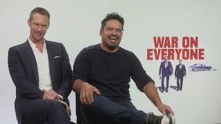 Nonton War On Everyone: Alexander Skarsgard and Michael Pena talk bromance, relationships and ABBA Film Subtitle Indonesia Streaming Movie Download