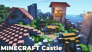 Building an Awesome Starter Castle Base for Minecraft 1.15 Survival