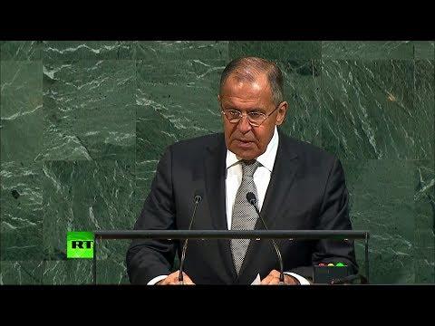 Выступление Сергея Лаврова на 72-й Генассамблее ООН - DomaVideo.Ru