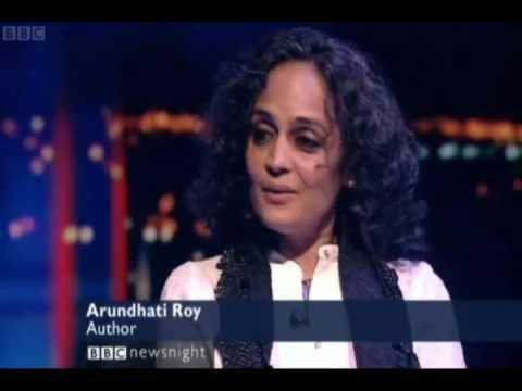 Newsnight's Jeremy Paxman interviews Arundhati Roy