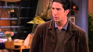 Friends S05E14/E15 - Ross sees Monica and Chandler through his window, and goes to her apt to confront them