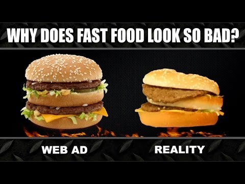Ever WOndered Why Do Burgers Look So Delicious in Ads Rather Than In Reality!