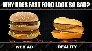 Fast Food ADS vs. REALITY Experiment - YouTube