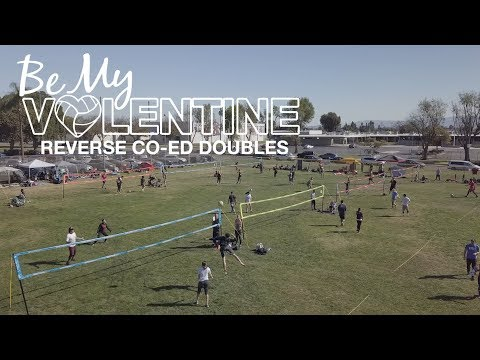 By My Volentine - SoCal FIVA Reverse Co-Ed Doubles Tournament