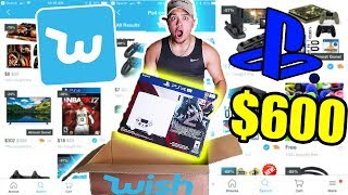 I BOUGHT A PLAYSTATION 4 PRO FROM WISH!! ( ps4 pro 4K unboxing)