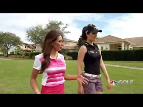Playing Lessons, Golf Channel, Episode 6   Sandra Holing a Wedge Shot