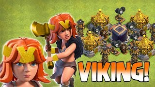 "Video V IS FOR VIKING!!! "" Clash of clans "" VALKYRIE THE VIKING!!! MP3, 3GP, MP4, WEBM, AVI, FLV Oktober 2017"