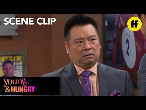 Young & Hungry   Season 5, Episode 7: Josh Tricks Elliot   Freeform