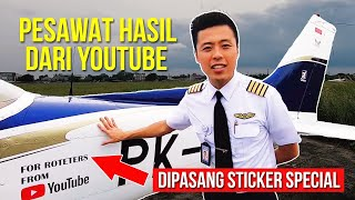 Video BELI PESAWAT DARI HASIL YOUTUBE - Pesawat Prtama Indonesia Dr Youtube MotoMobi Fitra Eri Dyland Pros MP3, 3GP, MP4, WEBM, AVI, FLV April 2019