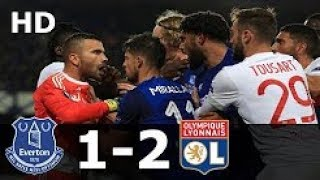 Video Everton vs Lyon 1-2 Highlights & Goals - Europa League 19 October 2017 MP3, 3GP, MP4, WEBM, AVI, FLV Oktober 2017