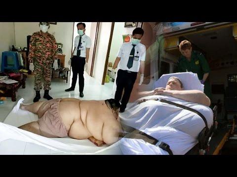 kỳ lạ & khó hiểu - anh tràng tấn mỡ ăn 30 bát mỳ một ngày phải nhập viện bằng xe tải hạng nặng